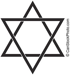 Star of David icon. - Jewish Star of David Six Pointed Star...