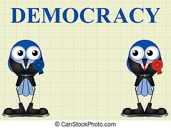 Democracy with politicians