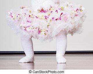 Little girl child in dress - Lovely little child girl in...