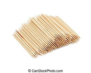 Toothpicks, isolated on a white background