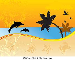 Wonderful summer background