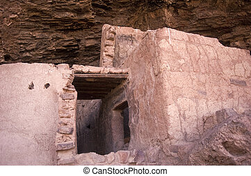 Ancient Indian Pueblo - Ancient Indian Native American...