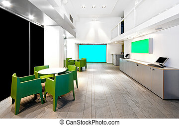 Office space - Large show room in big modern office