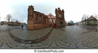 St. Anne's Church and Church of St. Francis and St. Bernard...