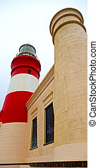 in south africa coastline and lighthouse - in south africa...