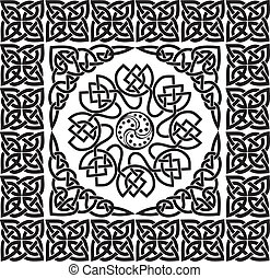 Celtic ornament, illustration
