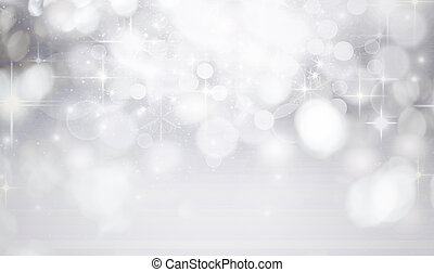 holiday abstract glitter background - Magic blue holiday...