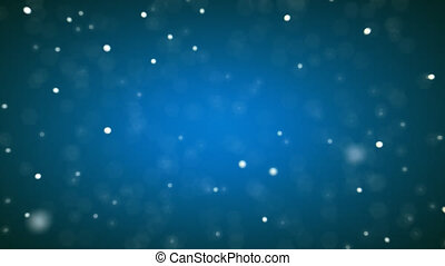 Snow background - 3D Animation