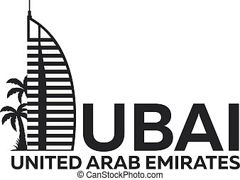 Dubai logo. UAE. United Arab Emirates. - Dubai logo. UAE...