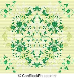 Background flower, elements for design