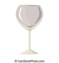 silhouette gray scale with champagne glass vector...