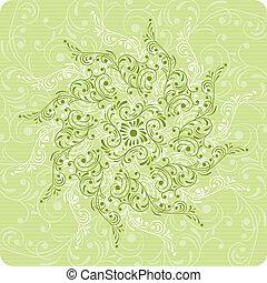 Background flower, elements for design, vector