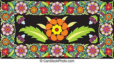 Flower frame