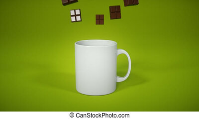 Hot chocolate - 3D Animation