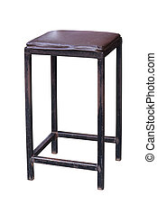 Old steel simplistic chair. - Old steel simplistic chair...
