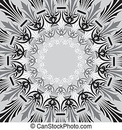Background flower, elements for design, vector illustration