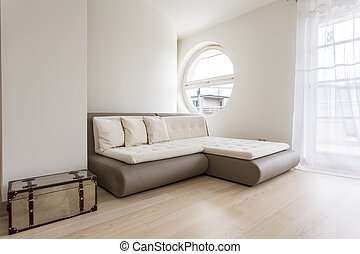 Bright room with sofa bed - Bright guest room with a sofa...