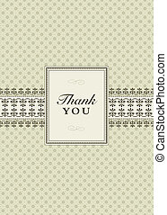Vector Small Ornate Frame