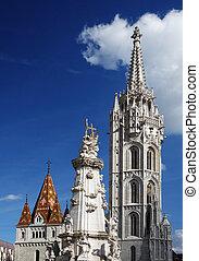 Matthias Church in Budapest - Matthias Church in the Castle...