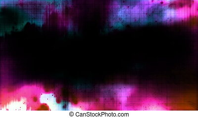 color pop abstract mashup looping background