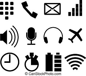 simple modern icons