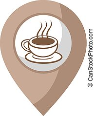 coffee zone - creative design of coffee zone icon