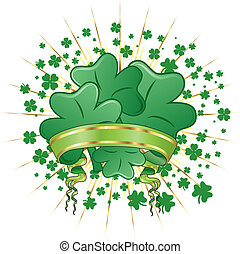Abstract St. Patrick\'s Day