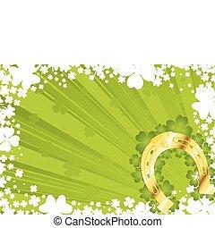 St. Patrick\'s Day Background - St. Patrick\'s Day frame...