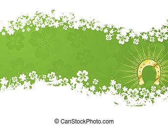 St. Patrick\'s Day Background - St. Patrick\'s Day grunge...