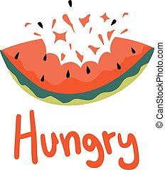 hungry message - creative design of hungry message