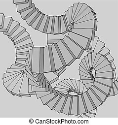 Imaginative architecture vector - design of imaginative...