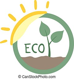 imaginative eco icon - design of imaginative eco icon