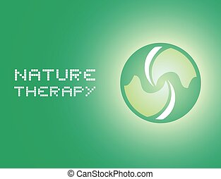 nature therapy message