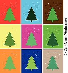 simple Christmas card,