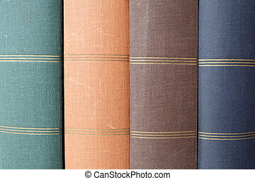 stack of big book covers / photo books - stack of big books,...