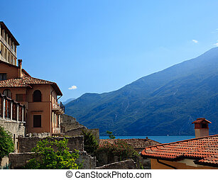 Rooftops in Limone