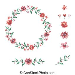 Couronne Fleur Mariage Dessin