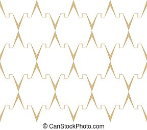 Grafic vector pattern. - Geometric vector pattern. Seamless...