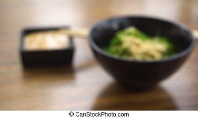 Hiyashi waakame chuka salad - Hiyashi waakame chuka Japanese...