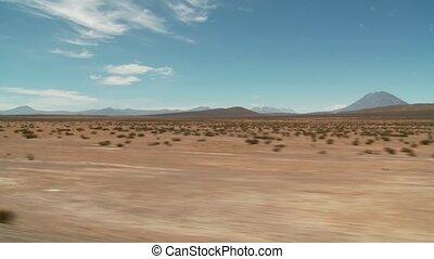 Anden, landschaftsbild, fahren