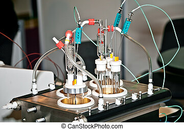 Universal reactor work station with a range of easily...