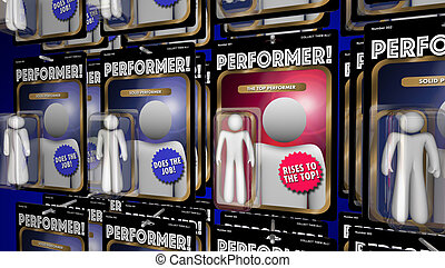 Top Performer Action Figure Great Performance 3d...