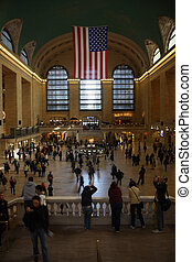 Grand Central Terminal staion in New York
