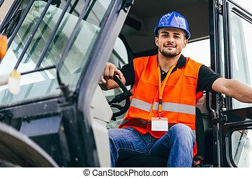 Skid Steer Loader driver