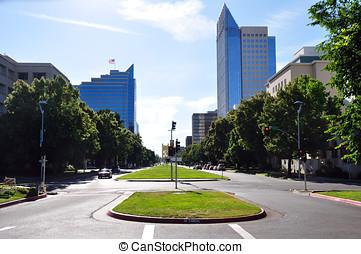 śródmieście, Sacramento