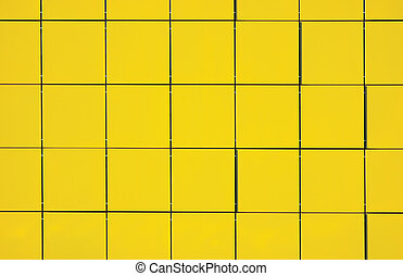 Light Yellow Metallic Facade Panel Background