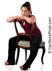 Sitting Backwards