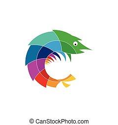 Mantis Shrimp Stylized - Mantis Shrimp Logo Stylized Icon