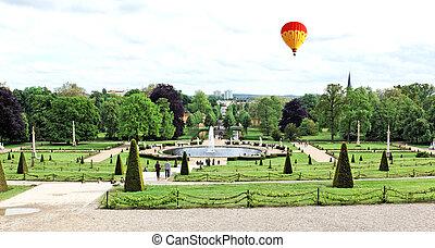Sanssouci Palace in Potsdam Germany