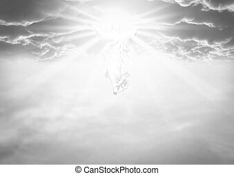 The Ascension And Resurrection - An illustration depicting...